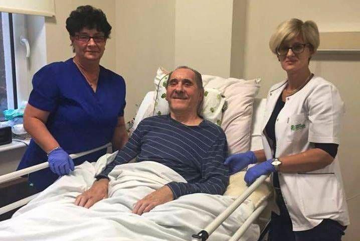 46522788 592984437828112 1008566266513850368 n 718x480 - Ryszard Szurkowski walczy o powrót do zdrowia w Szpitalu Rehabilitacyjnym