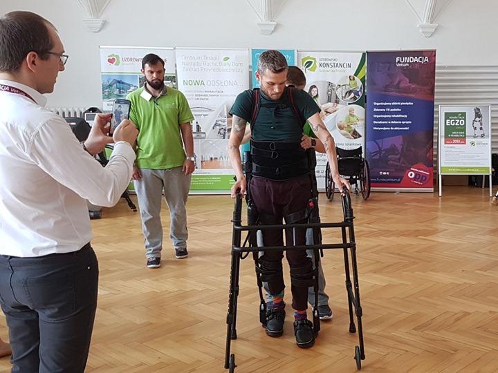 nowoczesna rehabilitacja konferencja1 - Konferencja na temat mobilności osób po urazach neurologicznych