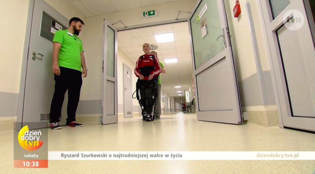 szurkowski rehabilitacja po wypadku 1024x567 - Dzień Dobry TVN: Legenda kolarstwa walczy o powrót do zdrowia
