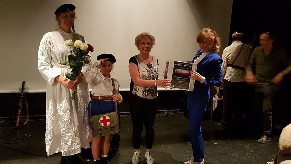 kombatanci w konstancinie jeziornie 5 - Wyjątkowy koncert dla Kombatantów w Konstancinie-Jeziornie