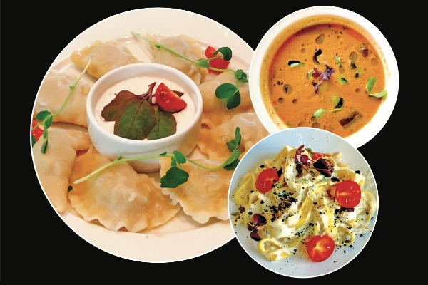 jedzenie z dostawa - Restauracja EVA Park w weekendy gotuje i dostarcza do domu