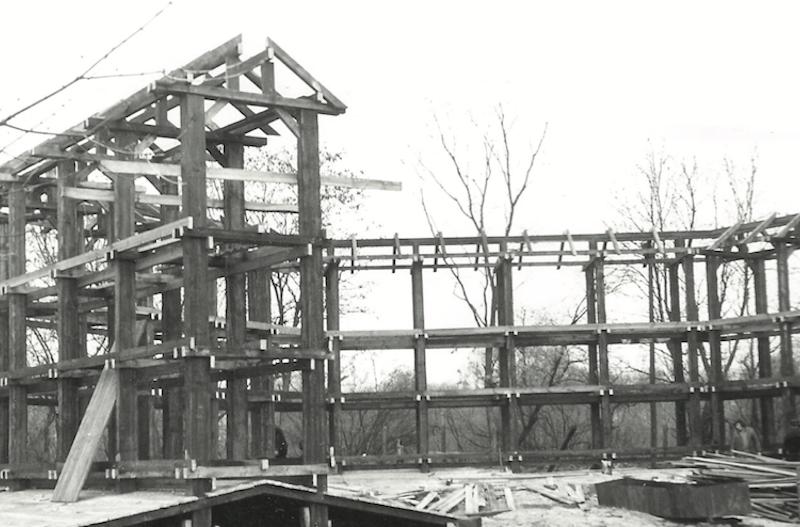budowa tezni w konstancinie - Archiwalne zdjęcia tężni solankowej - to już 40 lat!