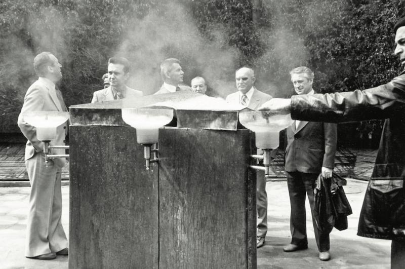 budowa tezni w konstancinie 3 - Archiwalne zdjęcia tężni solankowej - to już 40 lat!