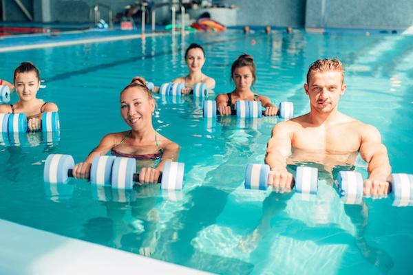 aqua fitness - Aqua Fitness w basenie solankowym - zapraszamy już od października!